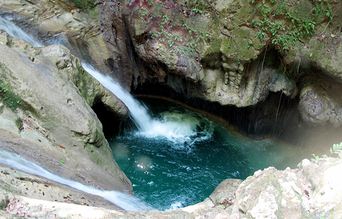 Half Day Damajagua Falls Puerto Plata Dominican Republic Excursions